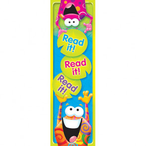 Bookmarks / Class Gifts | Read it! Fun Frog Design