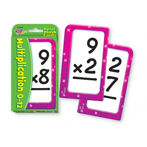 Educational Games | Multiplication 0-12 Pocket Flash Cards