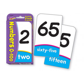 Pocket Flash Cards Educational Game   Numbers 0-100. Maths Flash Cards