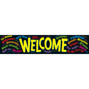 Classroom Display Banners | Welcome in Different Languages