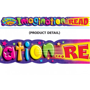 Classroom Display Banners | Light up your Imagination Read Decor