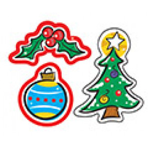 Kids Stickers | Shiny Christmas Design