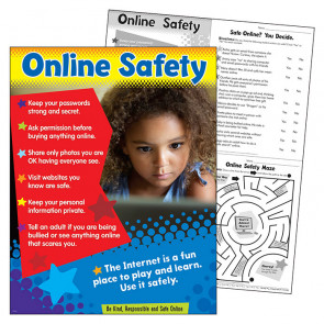 School Poster | Safety online for young Internet users