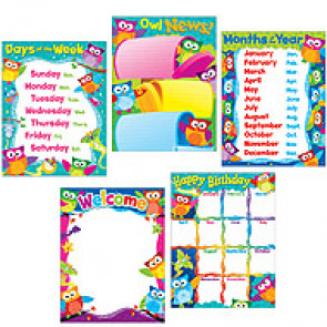 Teacher Poster Display Pack | Owl-Stars Classroom Display Set