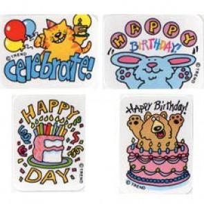 Teacher Reward Stickers | Happy Birthday Stickers for the Classroom