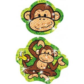 Kids Stickers | Lively Monkeys - Sparkle Teacher Reward Stickers