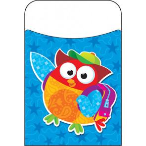 Classroom Organisation Resources | Library Pockets - Owl-Stars Design