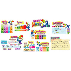 Children's Wall Charts and Posters   Discover Music