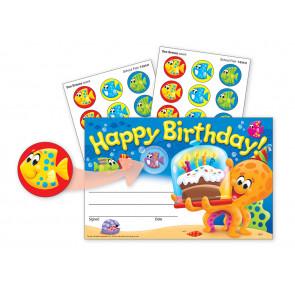 School Certificates | Happy Birthday Sea Buddies & Scratch 'n Sniff Stickers.