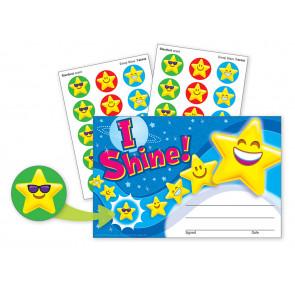 Kids Certificates | I Shine! Scratch 'n Sniff Stickers.