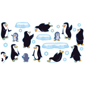 Children's Wall Charts and Posters | Playful Penguins
