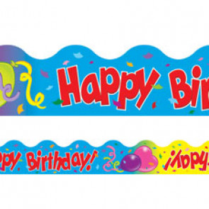 Classroom trimmers / borders | Happy Birthday!
