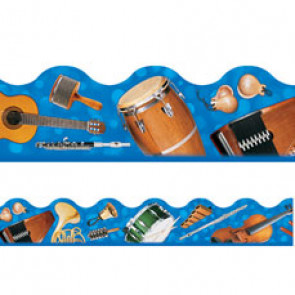 Classroom trimmers / borders | Musical Instruments