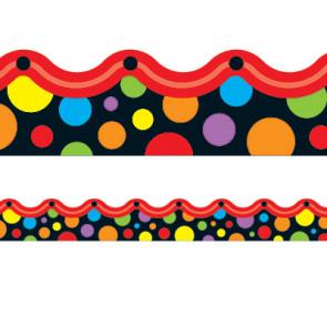 Classroom Display Resources | Neon Dots Borders