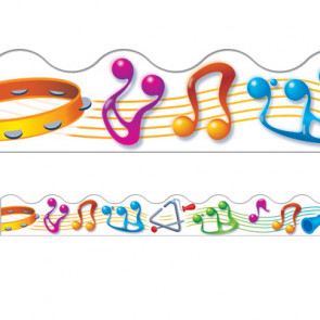 Classroom Display Borders   Music Makers / Music Notes Design
