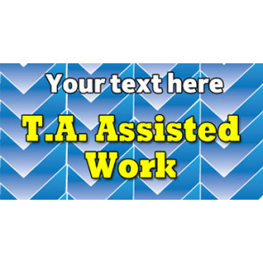 Teacher Personalised Marking Stickers | T.A. Assisted Work Sticker to Customise
