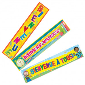 Classroom Banner | Bienvenue French Welcome Banners