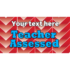 Personalised School Stickers | Teacher Assessed! Design Custom Standard Stickers