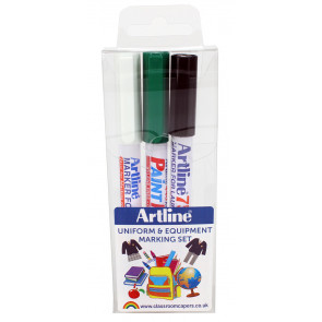 Uniform & Kit Naming Pens | Artline Uniform & Equipment Marker Pens