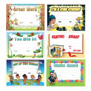 School Certificates | Teacher's Variety Pack - Maths Certificates, Reading Certificates, Star of the Week & More!
