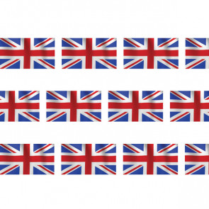 Classroom Borders / Trimmers | Union Jack Flag  /  British Flag