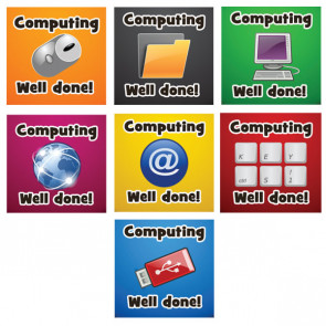 School Stickers | Computing Reward / Praise Stickers