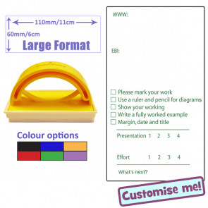 Large Teacher Stamper | Feedback, Marking & Grading Teacher Stamp