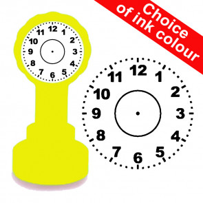 Teacher Stamps | 22m Clock Face School Stamp