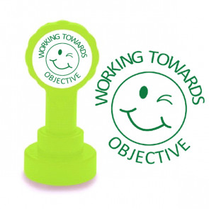 Teacher Stamps | Working Towards Objective