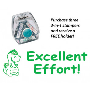 Teacher 3-in-1 Stamper | Excellent Effort! Dragon