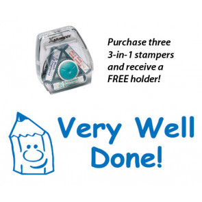 Very Well Done! Teacher 3-in-1 Stamper Set