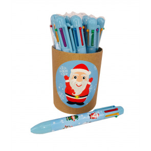 Christmas Cheap Gifts | Value tub Christmas 6-Colour Pens