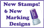 New Teacher School Marking Stamps