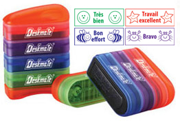 French Multi-stack Teacher stampers for school