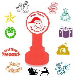 Christmas - Personalised Custom Self-inking Stamps for Teachers