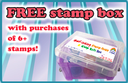 Free Storage Box for Teacher Stamps