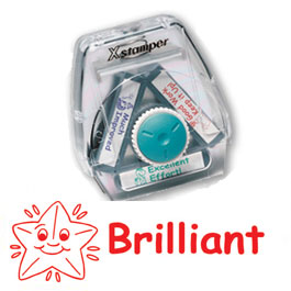 Brilliant Teacher stamp for marking