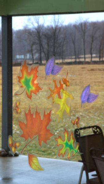 Window Clings Classroom Display