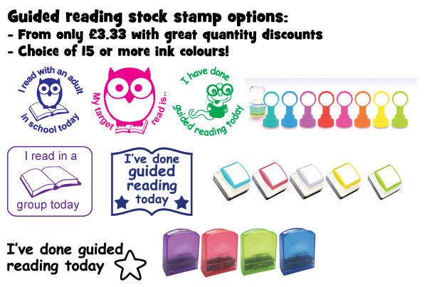 Guided Reading Teacher Stamps