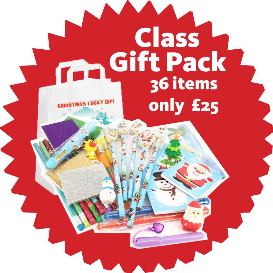 Christmas Lucky Dip Class Gifts Bag for Teachers