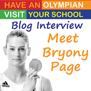 Bryony Page Interview - Supporting the School Stamps Competition