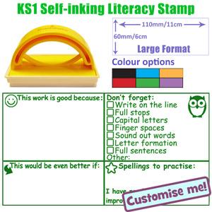 New Teacher Stamp! KS1 Literacy Marking