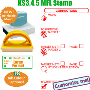 MFL Languages stamp