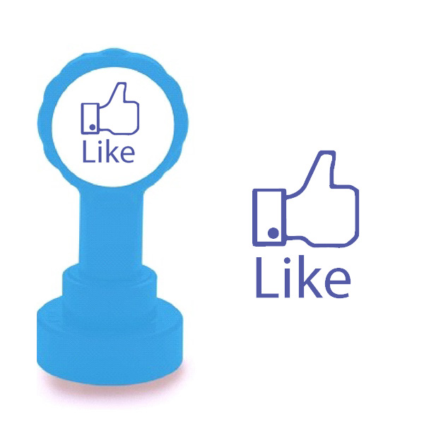 Facebook 'LIKE' School Stamp