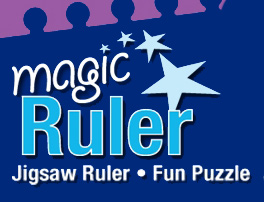 Magic Jigsaw Ruler