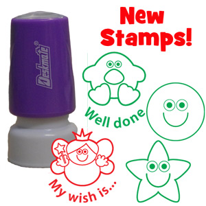 4 New School Stamps!