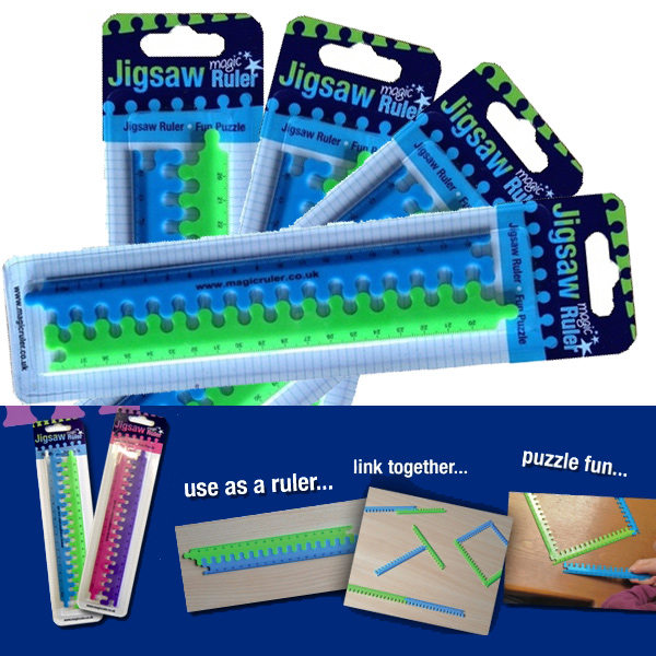 Magic Rulers - Blue and Green - Great Class gift!